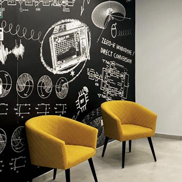 עיצוב מסחרי ועיטוף קירות