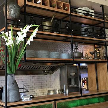 עיצוב מסחרי המטבח הכפול
