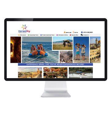 חברה לעיצוב אתרים לתחום התיירות