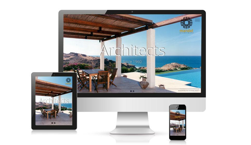 עיצוב אתר למשרד אדריכלים